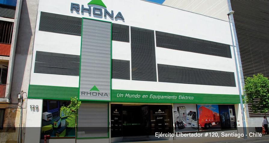 RHONA - Un mundo en Equipamiento Eléctrico