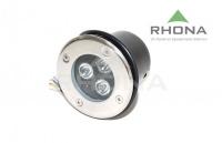 Luminaria embutida piso LED