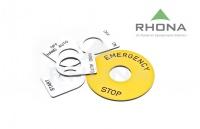 Placa Selector /botonera 22mm