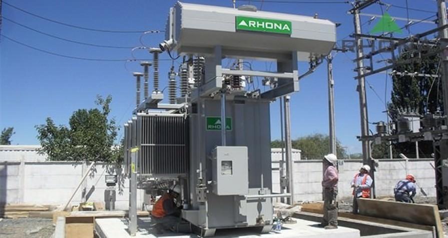 Transformadores de poder hasta 100 MVA y 154 kV