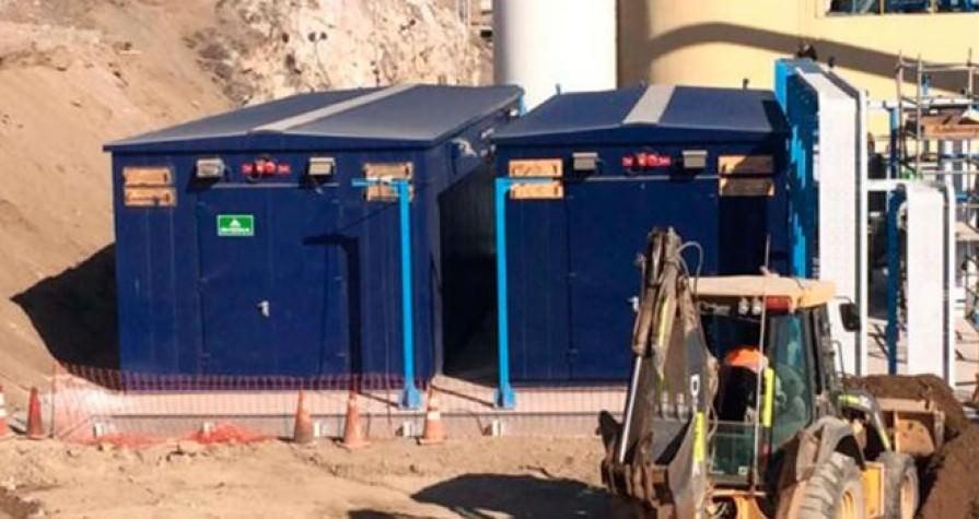 RHONA suministró equipos para ampliación de planta de Aguas Antofagasta