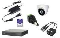 Kit 4 cámaras HDCVI