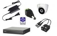 Kit 8 cámaras HDCVI